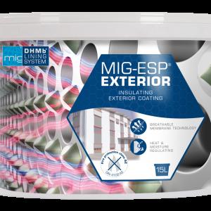MIG-ESP termo keraminiai fasadu dazai